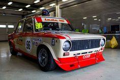 ВАЗ-21011 команды УГМК-Моторспорт на этапе Moscow Classic Grand Prix