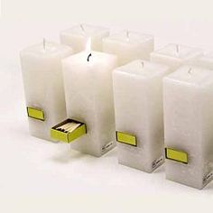 All-in-one Candles with Matches