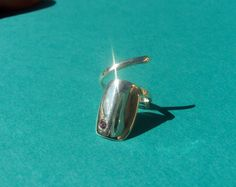 Robopop fingernail ring by oopalele on Etsy, $95.00