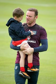 Pin for Later: The World Cup's Hottest Dads Are Even Bigger Stars in the Eyes of Their Kids Wayne Rooney —England