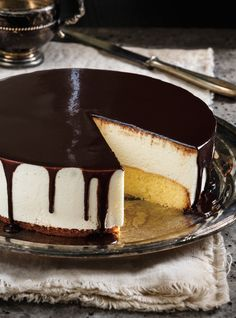 Recette de Ricardo gâteau russe à la guimauve
