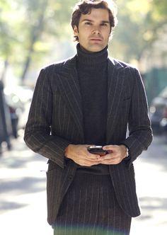 Kostym och polo