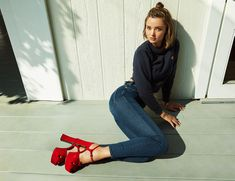 Miranda Kerr Launches a Denim Collection With Mother and Designs the Perfect Supermodel Jeans