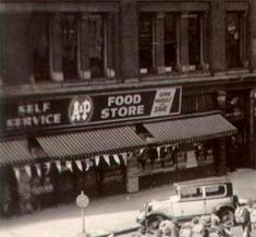 An A&P store opened on West Market Street in the summer of 1937.