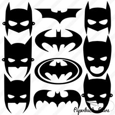 Batman, Super hero SVG, PNG Cut Files for use with Silhouette Studio, Cricut… Batman Birthday, Batman Party, Lego Batman, Superhero Party, Machine Silhouette Portrait, Silhouette Machine, Silhouette Studio, Plotter Silhouette Cameo, Silhouette Cameo Projects