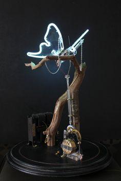 Automaton butterfly, artist: Jeroen Gordijn