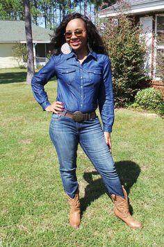 No Ordinary Cowgirl...Feeling FABULOUS in a western way!!  Make sure you follow me on www.chictopia.com/ladytrishm