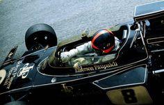 Emerson Fittipaldi (lotus-Ford) 3ème du Grand Prix de Monaco...