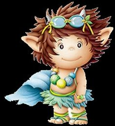 Discover thousands of images about trol Cute Fantasy Creatures, Magical Creatures, Baby Fairy, Cute Clipart, Cute Images, Heart Art, Cartoon Kids, Illustrations, Kids Cards