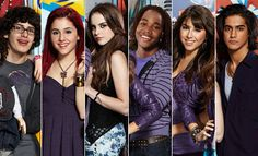 Victorious cast! Sadly Tori is not in this pick:(