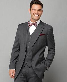 Love this!! No bow tie & purple vest...