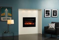 Riva2 670 Electric Designio2 Glass Fires - Gazco Fires
