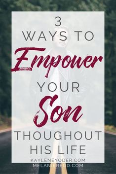 How do you empower your son throughout life? Let these Christian parenting tips help you raise a godly son who loves the Lord and stands strong in faith.    Kaylene Yoder #christianparenting #raisingboys #boymom #kayleneyoder Raising Godly Children, Raising Boys, Grace Based Parenting, Kids And Parenting, Parenting Articles, Parenting Hacks, Prayer For Family, Bible Study For Kids, Christian Kids