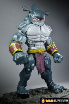 King Shark (DC Universe) Custom Action Figure