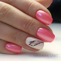 80 The Most Trendy Fall Nail Designs You'll Love - Page 5 of 54 - nail art Love Nails, Pretty Nails, Fun Nails, Nagel Hacks, Latest Nail Art, Fall Nail Designs, Cute Nail Art, Nagel Gel, Creative Nails