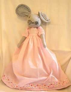 Country Mouse-City Mouse Topsy Turvy Doll. $50.00, via Etsy.