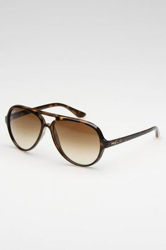 Ray Ban Cats 5000 Sunglasses In Havana - Beyond the Rack