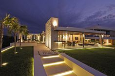 Casa De Playa LM by Anabel Cervantes Architecture / Lighting by Luminica Iluminacion