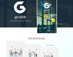 """Check out new work on my @Behance portfolio: """"Grubb"""" http://be.net/gallery/47031081/Grubb"""
