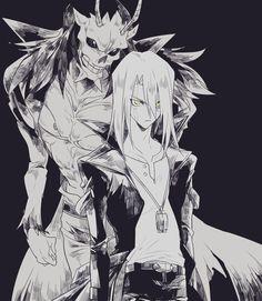 Kiryu and Infernity Des Gunman