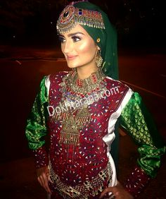 #afghan #style #dress #jewelry #girl