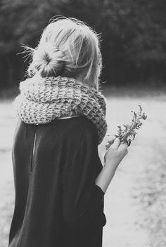 love the hair & scarf
