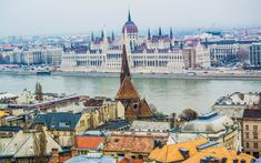 Man Made Budapest  Hungary Hungarian Parliament Building Wallpaper