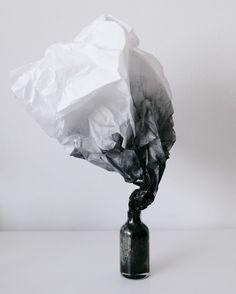 Inspiration. Beauty. Material presence. 'Smoke (experiments on methods II)' by Andrew Kim