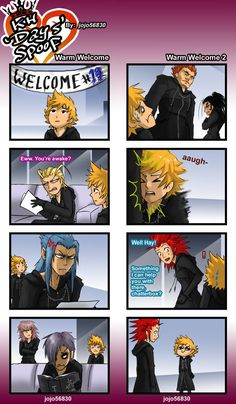 KH 358/2 days sppof:warm welcome by jojo56830 on DeviantArt