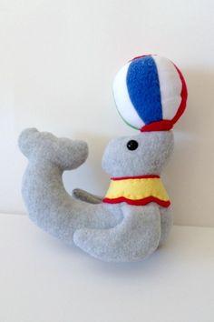 Sammy the Circus Seal - Stuffed Animal Pattern