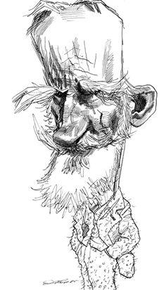 George Bernard Shaw, David Levine