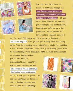 Learn how to design patterns with our design school: The Art and Business of Surface Pattern Design. Find out more: http://makeitindesign.com/design-school/