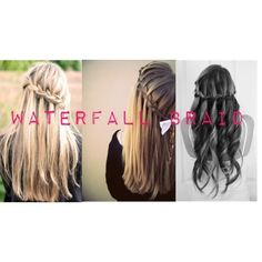 The Waterfall Braid | How To Get Summer's 27 Best Hairstyles