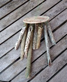 Natural Ceramic Wind Chimes