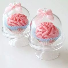 mini cupula acrilico para cupcake pastel mesa de dulces
