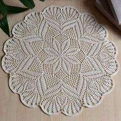Items similar to Round crochet doily Shabby chic Centrepieces Gift for her Table linen Dining table decor Table textile Cotton decor Eco decor Decoration on Etsy - Merle Shabby Chic Pink, Shabby Chic Decor, Crochet Motif, Crochet Doilies, Cotton Crochet, Doily Patterns, Crochet Patterns, Shabby Chic Dining Chairs, Shabby Chic Centerpieces