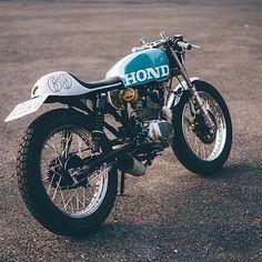 Honda cafe racer. Tag the owner