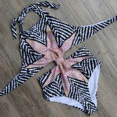Monokini Backless One-Piece Swimwear - Brazilian Bikini Swimsuits
