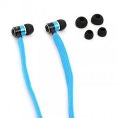 OMEGA FREESTYLE AURICULARES CORDONES AZUL Freestyle, Omega, Headphones, Electronics, Ear Phones, Lanyards, Blue Nails, Headset