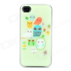 Brand: N/A; Model: ip-4; Quantity: 1 Piece; Color: Light green + transparent; Material: TPU; Type: Back Cases; Compatible Models: Iphone 4 / 4S; Other Features: Protects your device from scratch dust and shock; Packing List: 1 x Back case; http://j.mp/1oPCZyu