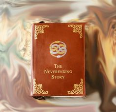 Neverending Story Leather Book Bag Brown Leather Book Purse -  $170.00 - This bag is made in a shape of a book, inspired by Neverending Story  = Exterior = Made by genuine leather. Adjustable strap 124 cm maximum length