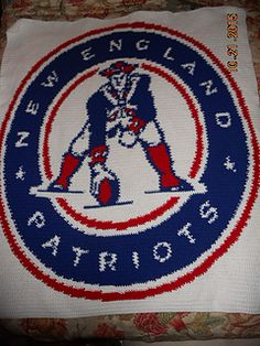 Free Crochet Pattern For New England Patriots Afghan : 1000+ images about Crochet graphs on Pinterest Filet ...