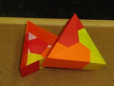 Daily Origami:  079 - Triangular Box with Lid