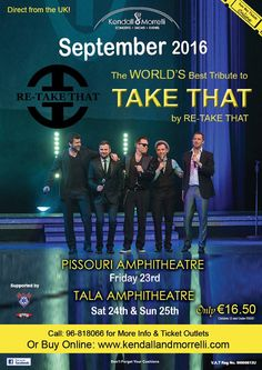 Re-Take That, Pissouri amphitheatre, Friday 23 September #takethat #pissouriamphitheatre #kendallandmorrelli https://plus.google.com/+PissouribayCyp/posts/6DVTD5NgDR1