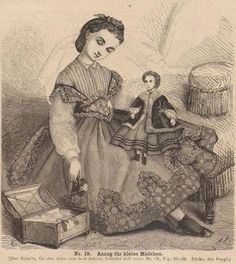1860's.  With a doll