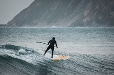 Stand up paddle in Chile - Puertecillo by David Carlier, via 500px