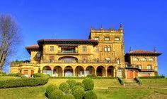 Resultado de imagen de FOTOS DE LOS PALACETES DE GETXO