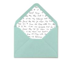 Printable Envelope Liner. Wedding Envelope Liner by BlushedDesign