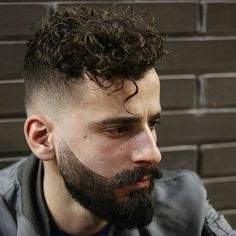 Ducktails + Curly Hair styles for man and guys