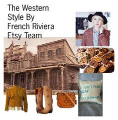 The Western Style by mouna-marini on Polyvore featuring mode, Lucchese and Coach